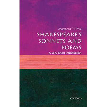 Shakespeare's Sonnets and Poems: A Very Short Introduction - Very Short Halloween Poems