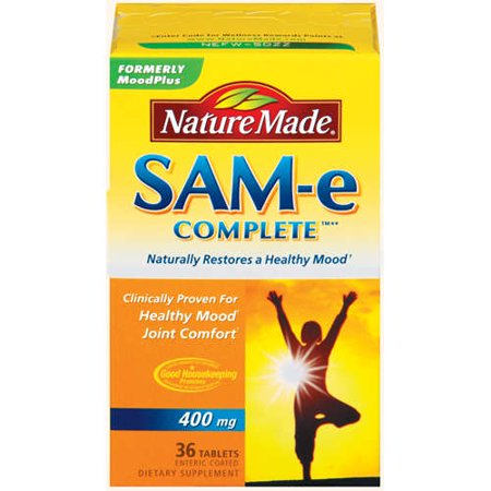 Nature Made SAM-e Complete 400 mg Tablets, 36 ct