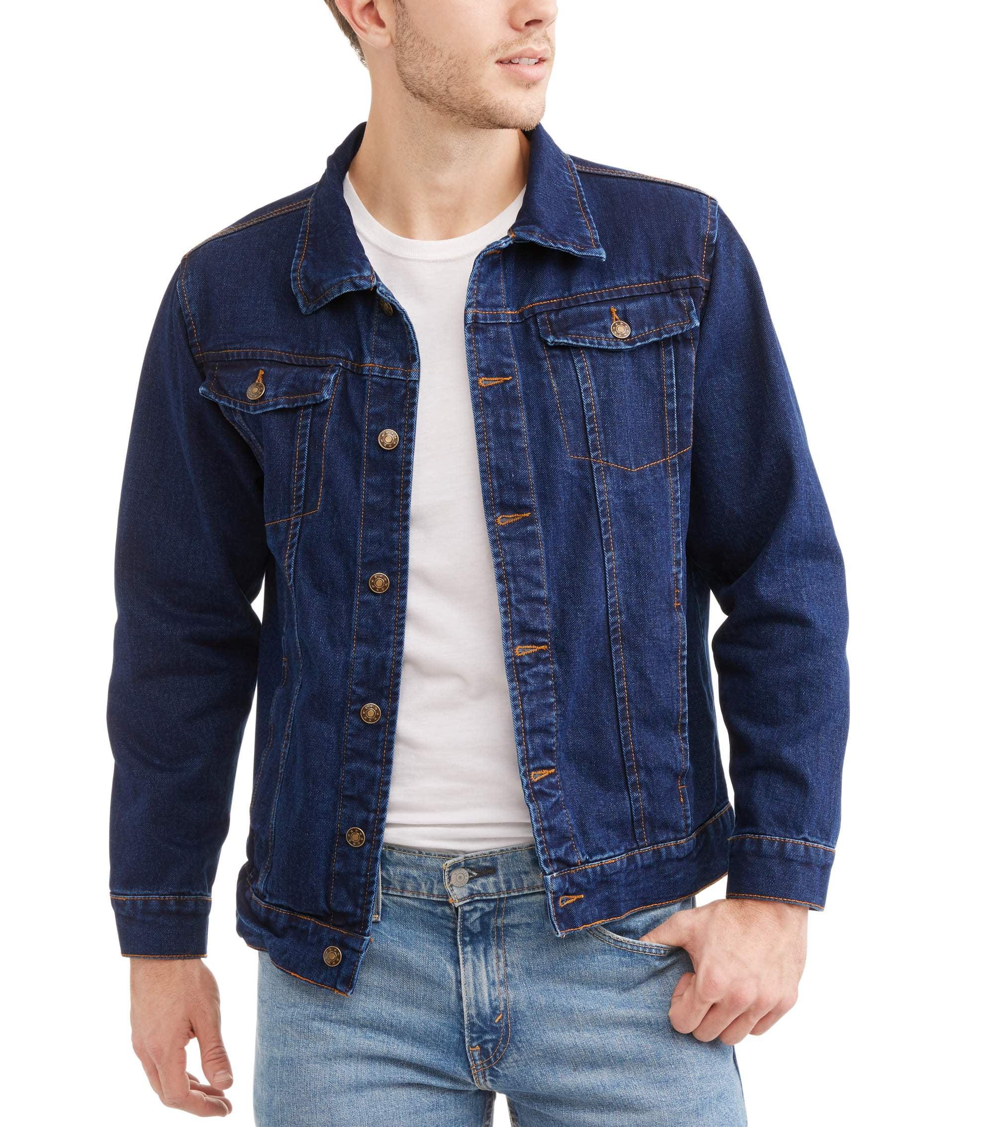 Men's Denim Jacket Dark Wash by