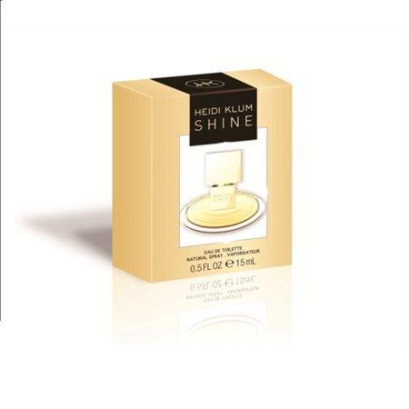 Shine By Heidi Klum   Womens Eau De Toilette Spray 0 5 Oz