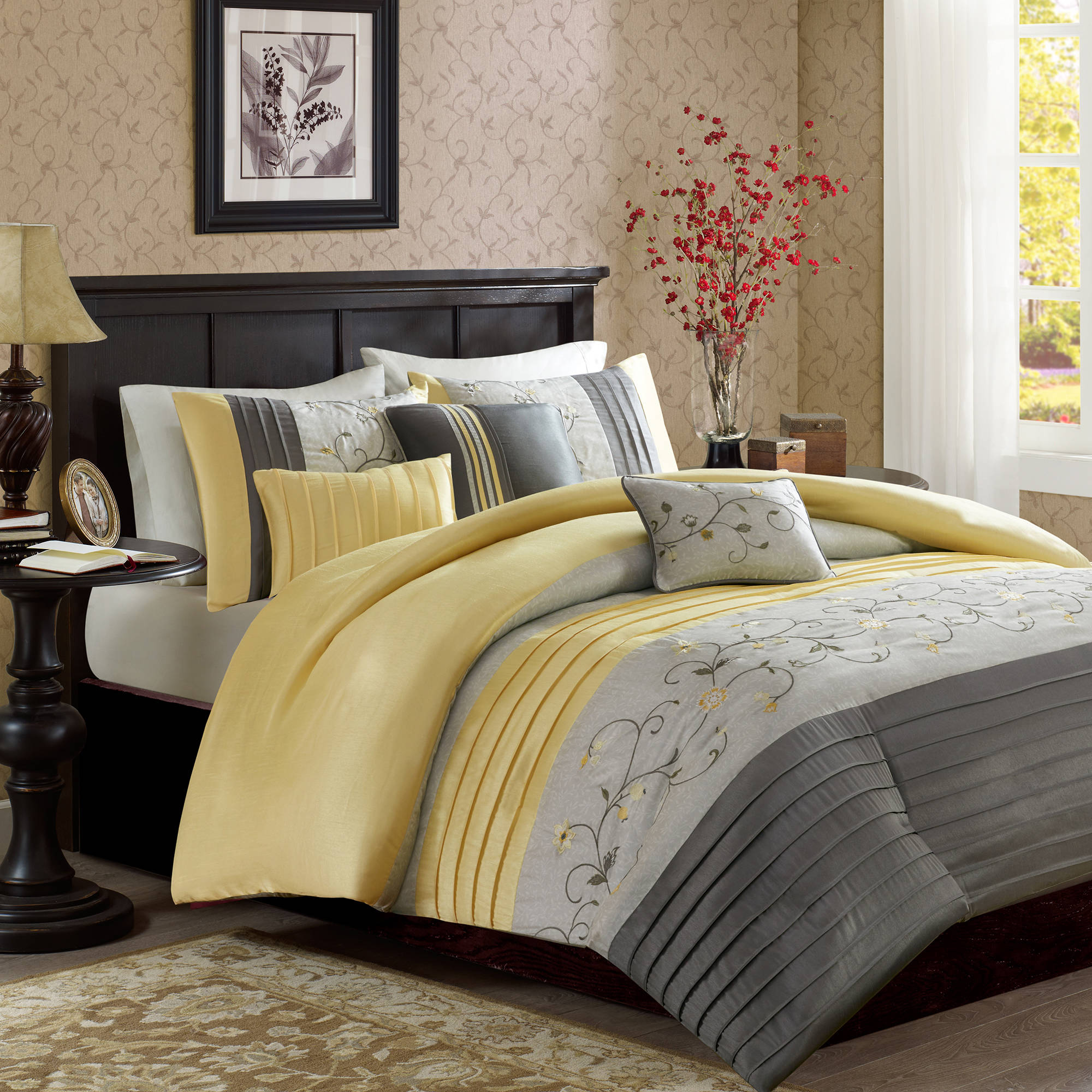 Home Essence Monroe 6-Piece Bedding Duvet Cover Set