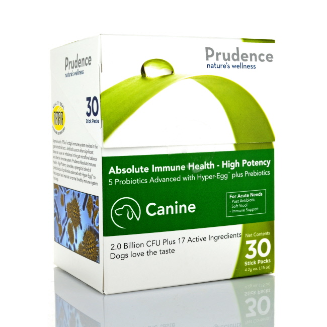 Prudence Absolute Immune Health, Canine, High Potency, 30ct