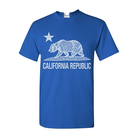 California Republic Vintage White Bear T-shirt Cali Shirts
