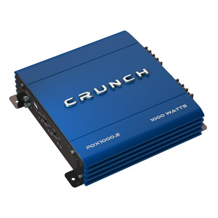 Gli Stereo Amplifier - Crunch PowerDriveX 1000 Watt 2 Channel Exclusive Blue A/B Car Stereo Amplifier