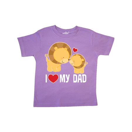 Fathers Day I Love My Dad Boys Lion Toddler - Boy Love Boy