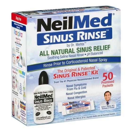 NeilMed Sinus Rinse, 1 0 CT - Walmart com