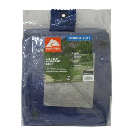 Ozark Trail Medium-Duty Tarpaulin, 8 x 10