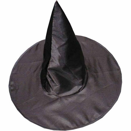 Deluxe Satin Witch Hat Child Halloween Accessory](Witch Makeup For Kids)