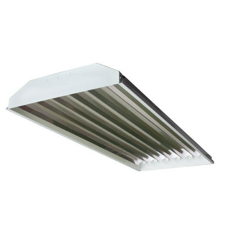 Howard Lighting 6-Light High Bay Fluorescent Light Fixture with 54W T5 - T5 High Bay Lighting