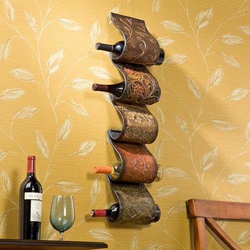 Southern Enterprises Calabriz Wine Rack Sculpture