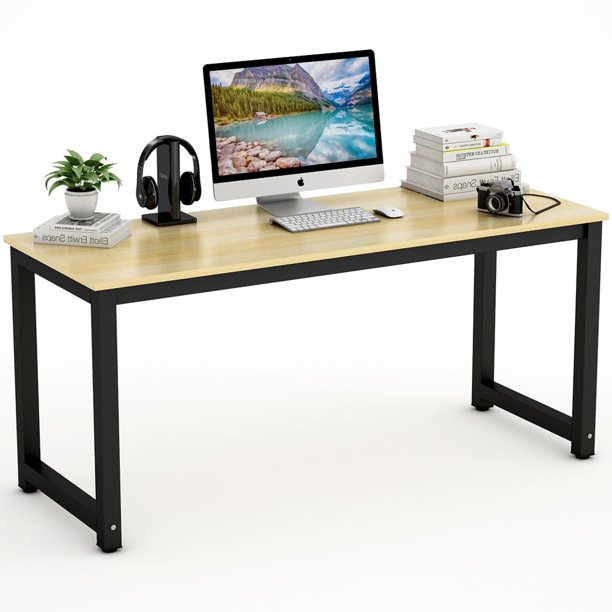 "Tribesigns Computer Desk, 63"" Large Office Desk Computer Table"