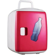 SMG Mini Fridge 12 Liter Compact Portable Personal Cooler and Warmer for Bedroom,Car,Office,Refrigerator for Skin Care Products,Breast Milk,Foods