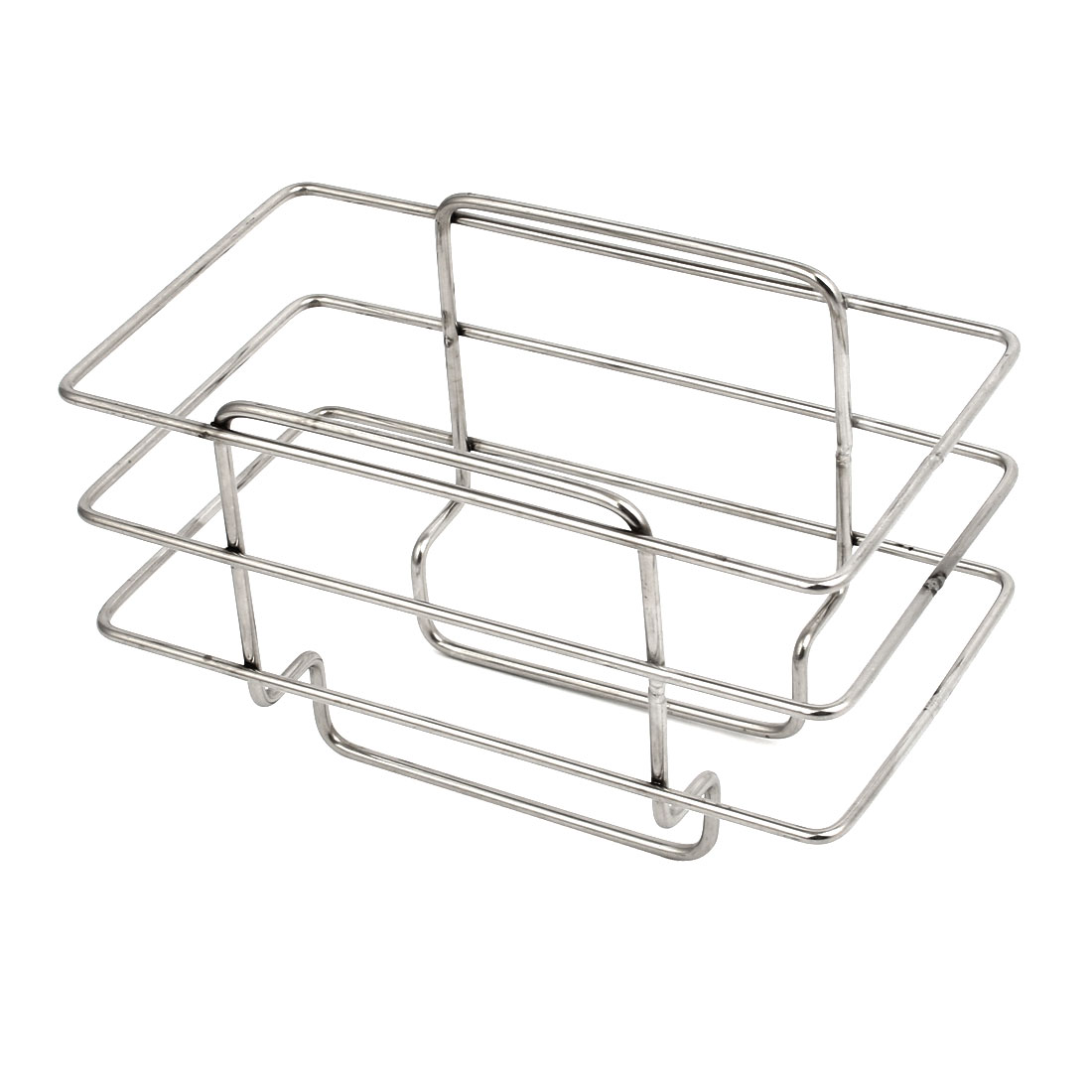 Kitchen 201 Stainless Steel Sponge Soap Rack Drainer Holder Sink Caddy