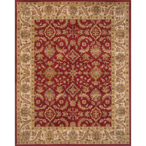 Continental Rug Company Pardis Red Rug