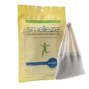 SMELLEZE Reusable Basement Odor Removal Deodorizer Pouch: Rids Musty Smell Without Fragrance in 200 Sq. Ft.
