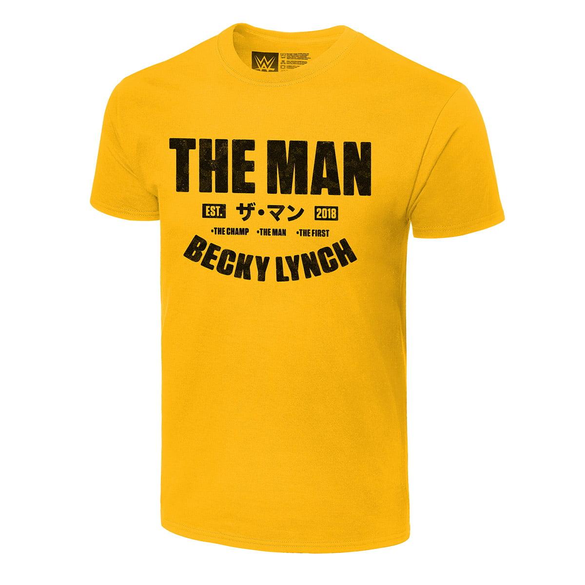 Becky Lynch The Man T-Shirt Men Women Unisex Funny Tshirt All Size S-3XL