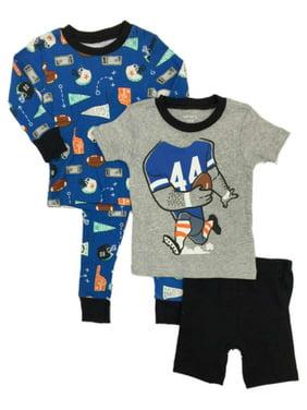 Toddler Boys 3 4 Carter/'s 4-Piece Shark /& Pizza Pajama Set