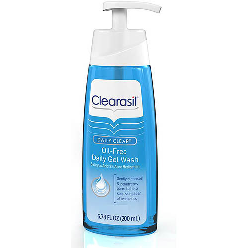 Clearasil Daily Clear Oil-Free Daily Gel Wash, 6.78 FL OZ