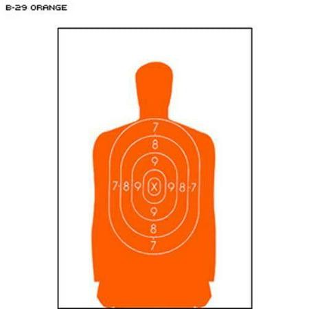 B 29 Qualification Target  Orange   Pack Of 10