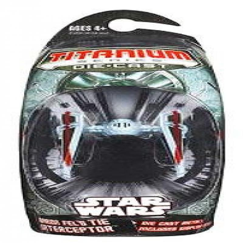 BARON FELS TIE INTERCEPTOR Star Wars * 3 INCH * Titanium Series Die Cast Vehicle by