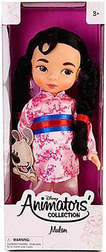 Disney Princess Animators' Collection Mulan Doll by