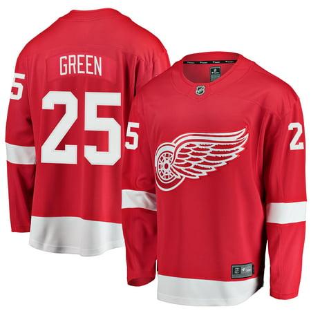 Mike Green Detroit Red Wings Fanatics Branded Youth Breakaway Player Jersey -