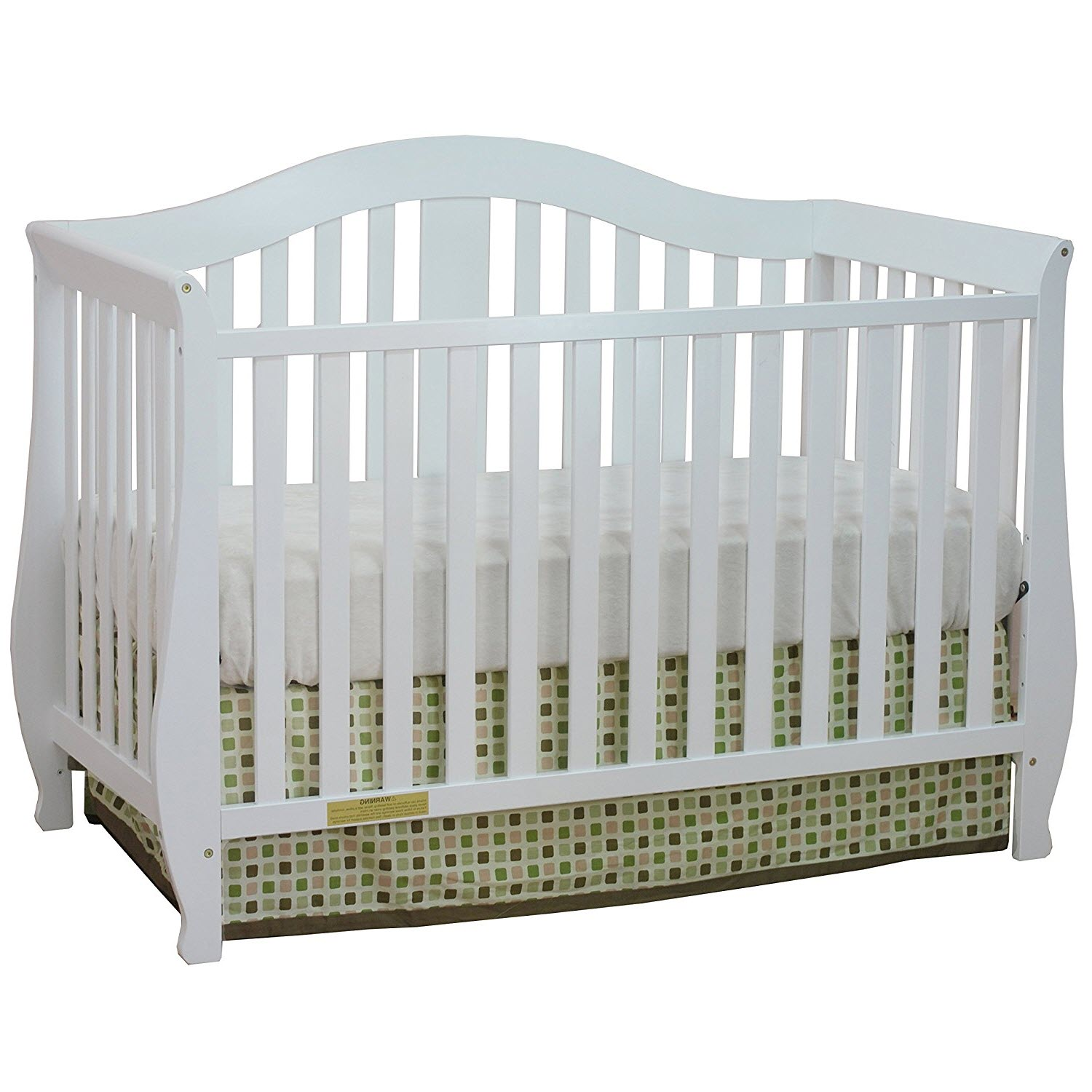AFG Baby Desiree 4-in-1 Convertible Crib White
