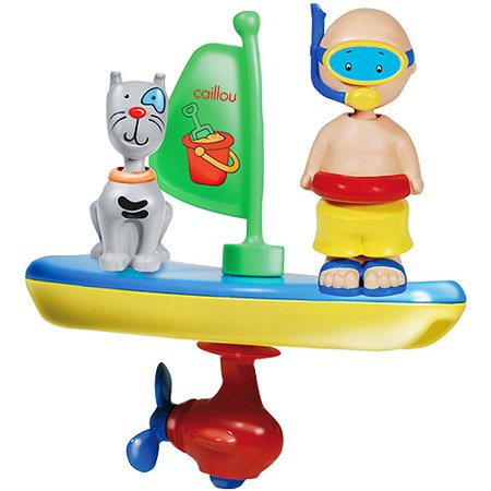 Caillou Bathtime Wind-Up Vehicle