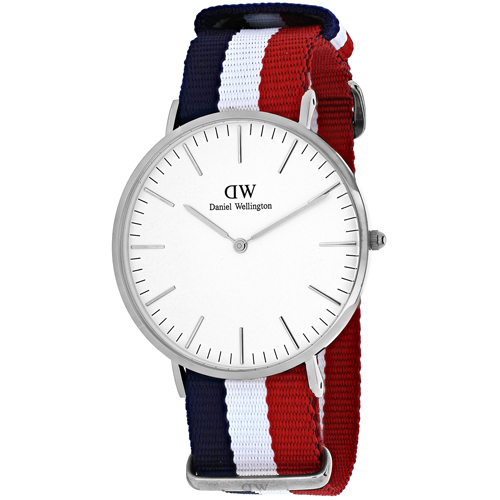 Daniel Wellington Men's Classic Cambridge Watch Quartz Mineral Crystal 0203DW