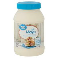 (2 pack) Great Value Light Mayo, 30 fl oz