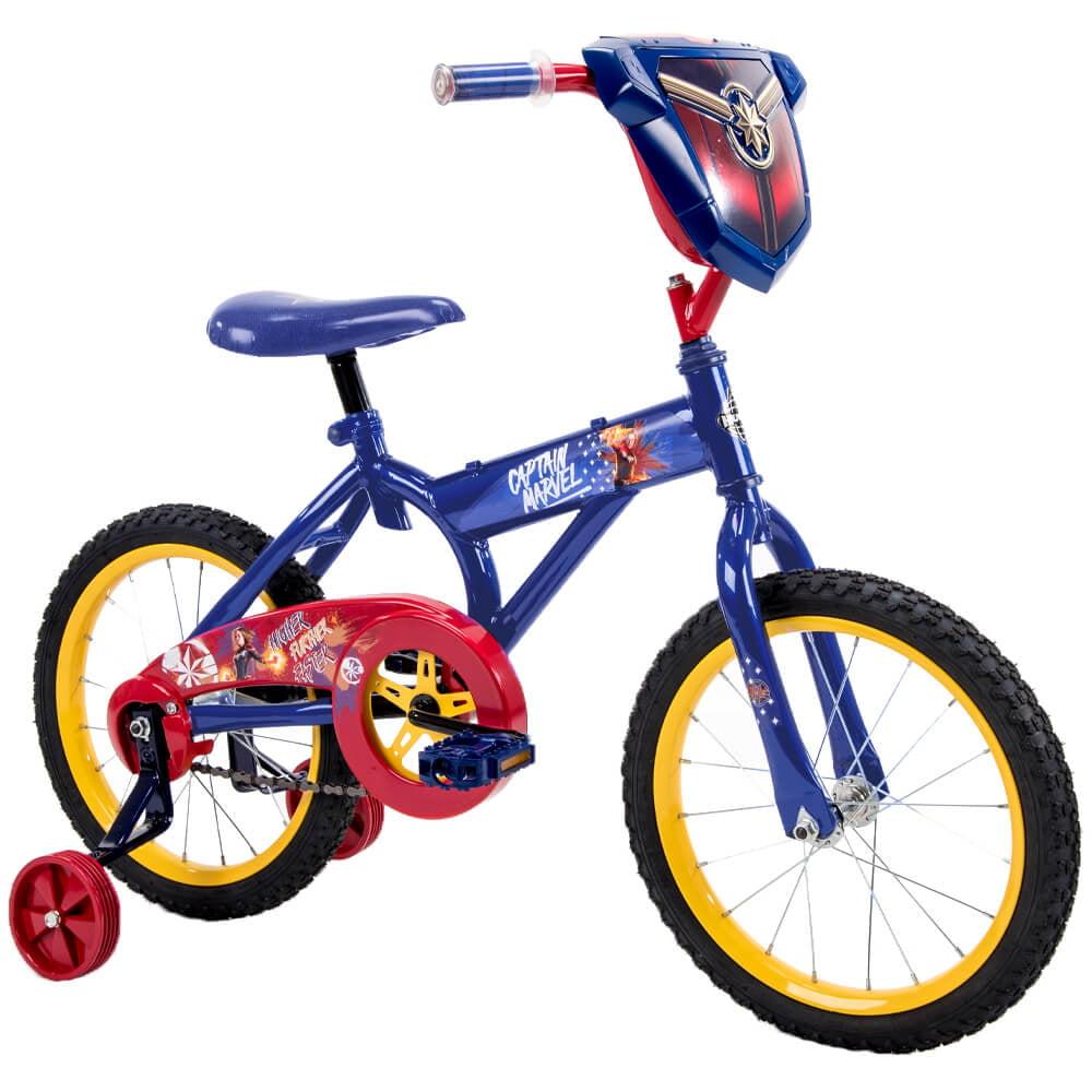 """Marvel Captain Marvel 16"""" Girls' Superhero Bike for Kids' by Huffy by Huffy"""