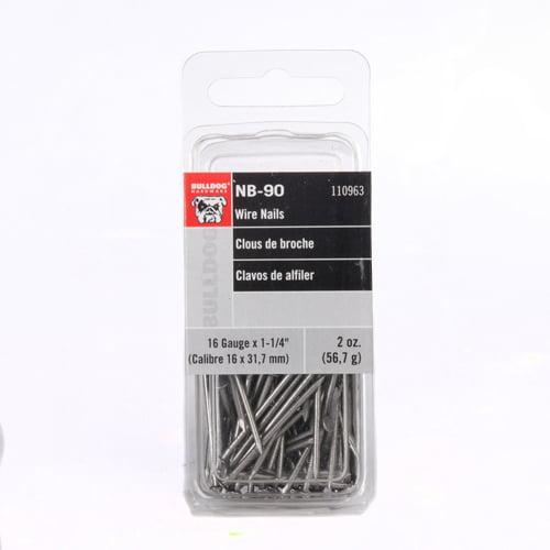 Bulldog Hardware 16 gauge x 1-1/4 in. Wire Nails
