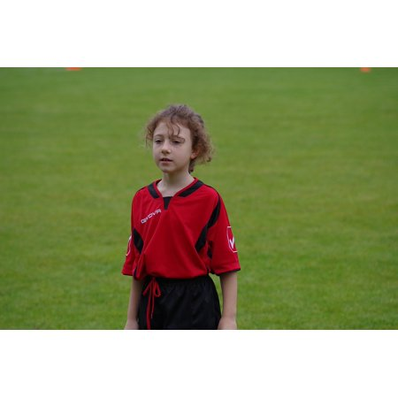 Canvas Print Football Girl Sport Jersey Player Cricketer Child Stretched Canvas 10 x -