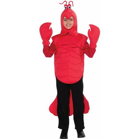Craw Daddy Crawfish Kids Costume