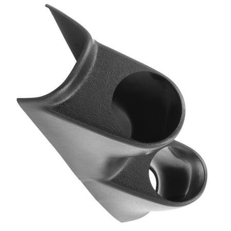 Column Mount Dual Gauge Pod (AutoMeter 15110 Mounting Solutions Dual Gauge Pod; 2-1/16 in.; Black;)