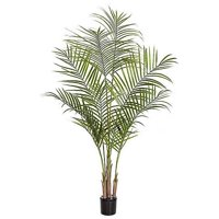 5.5 Foot Realistic Plastic Areca Palm Tree 2pcs, (Sold in Pairs)