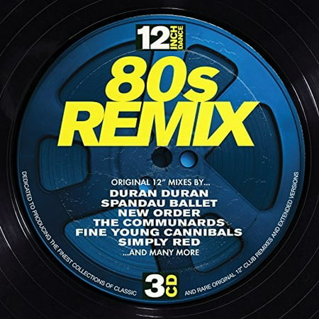12 Inch Dance: 80S Remix / Various (CD)