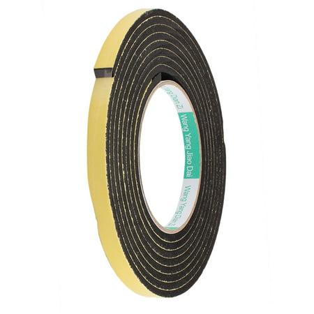 3 Meter Waterproof Tape - 10mm Width 4mm Thickness EVA Single Side Sponge Foam Tape 3 Meter Length