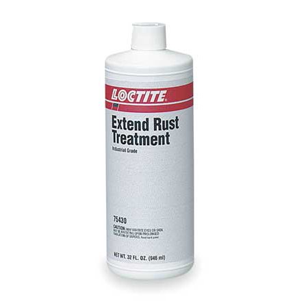 Loctite 75430 1 Qt Btl Rust Treatment, Opaque ()