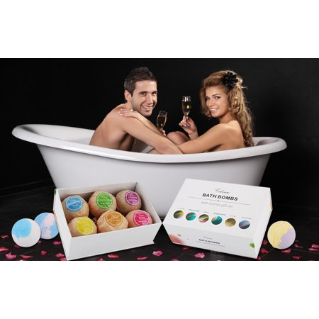 Bath Bombs Bubble Bath, Lush Bath Experience, Bath Bombs for Kids, Non Staining, Relaxing and Moisturizing Ingredients