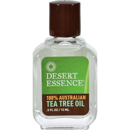 Desert Essence Australian Tea Tree Oil - 0.5 fl (Best Tea Tree Oil Brand For Acne Philippines)