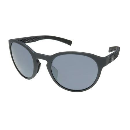 New Adidas Ad38/75 Proshift 3d X Mens/Womens Sport Full-Rim 100% UVA & UVB Grey Optimal Eye Protection Collectible Frame Chrome Lenses 52-21-135 Sunglasses/Eyewear (Sunglasses Men Adidas)