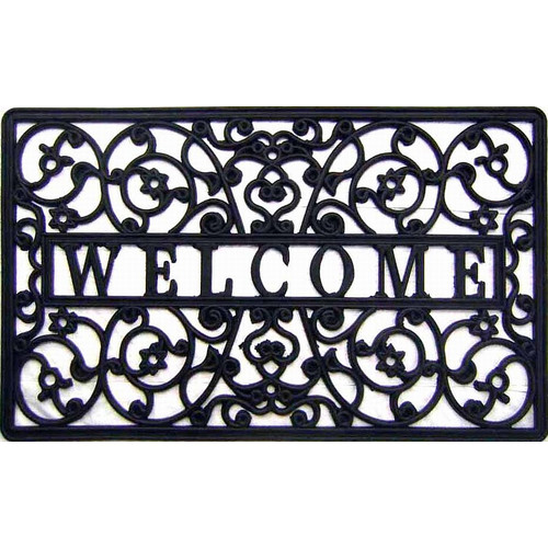 Geo Crafts, Inc Welcome Cutout Doormat