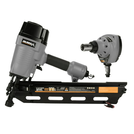 Numax 21° Framing Nailer and Palm Nailer Kit (Best Framing Nail Gun For The Money)