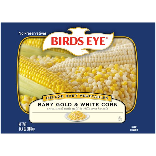 Birds Eye Baby Gold & White Corn, 14.4 oz