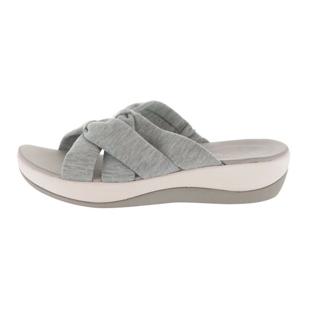 Clarks - CLOUDSTEPPERS Clarks Jersey Slide Sandals Arla Dristi ...