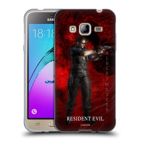 OFFICIAL RESIDENT EVIL REMAKE CHARACTERS SOFT GEL CASE FOR SAMSUNG PHONES 3