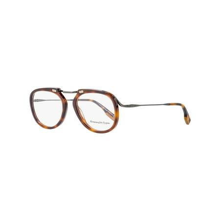 Ermenegildo Zegna EZ 5124 Eyeglasses 052 Dark Havana](Zinna Glasses)