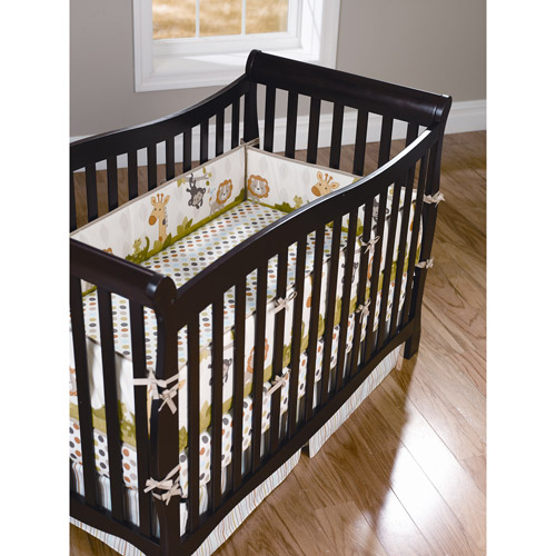 Child of Mine Safari Party Crib Bumper