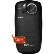 Refurbished Kodak PlaySport Zx5 Black HD Waterproof Pocket Video Camera
